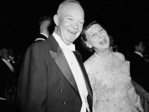 Dwight D Eisenhower Mamie President dwight d. eisenhower