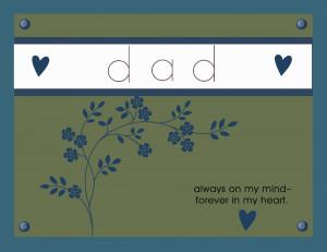 Happy Birthday in Heaven Dad!