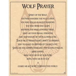 Wolf Prayer