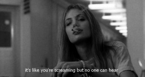 ... cigarette, girl, girl interrupted, interrupted, screaming, smoke, text