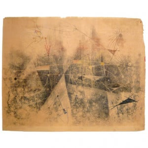 Harry Bertoia Monoprints