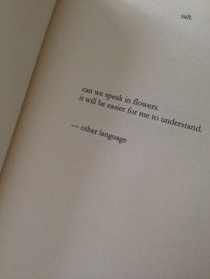 Nayyirah Waheed Quotes Flowers. QuotesGram
