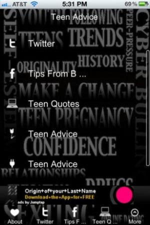 View bigger - Teen Advice & Quotes for Android screenshot