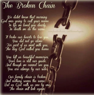 Broken Chains, Loss, Miss You Dads, Daddy, Aunts, Favorite Quotes ...