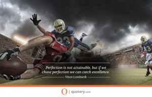 picture quote from Vince Lombardi.