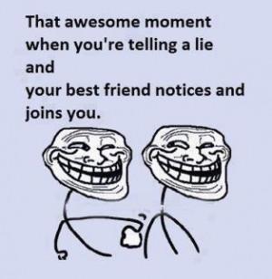 Best friends forever - funny meme