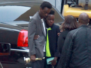 ... rapper boyfriend, K'naan who was in charge of looking after Oscar