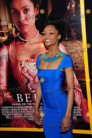 Yaya DaCosta Picture Belle NY Premiere Paris Theater NY 4 28 2014