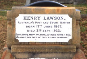 But, as you can see, the tombstone inscription reads: