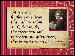 Beethoven Quotes Music advocacy quotes and