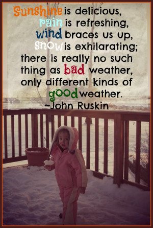 Think Quotes; It's Friday: Weather