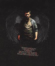 ... Supernatural Lucifer, Michael Supernatural, Supernatural Quotes
