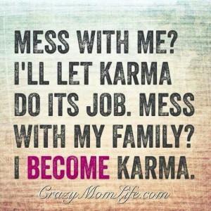 Karma, family quote