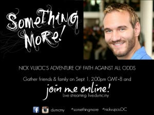 Nick Vujicic Quotes Nick vujicic