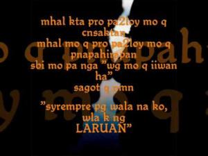 Single Quotes Tagalog