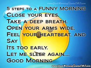 Funny Good Morning Quotes - Funny Morning Wishes, Jokes Messages ...