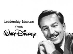Leadership Lessons from Walt Disney arranged by TeamTRI