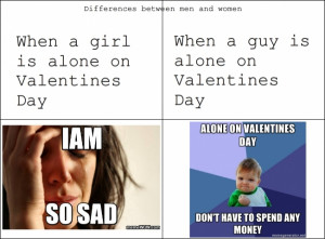 33. Valentine's Day - The Differences between Men and Women ...