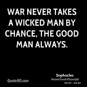... the rise of the seventh episode of Good Quotes About War literature