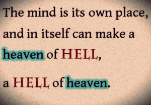 Great John Milton quote from