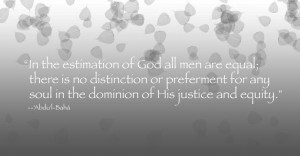 quote from the #Bahai writings: