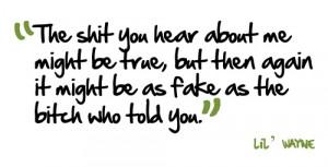 love Lil' Wayne quotes :)