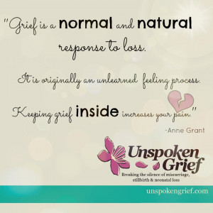 Keeping Grief Inside