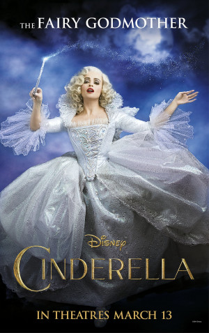 Helena Bonham Carter as Cinderella's Fairy Godmother Poster