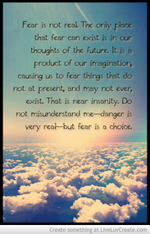 Will Smith After Earth Fear Quote Picture by Morgen Kimbrough ...