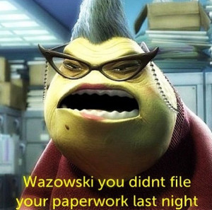 Monsters Inc Roz Quotes Monsters inc