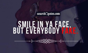 Fake People Quotes about Fake Smile
