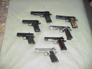 Chrome Colt 45