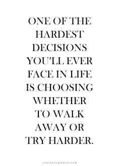 walk away! it's not worth trying if the other person isn't going ...