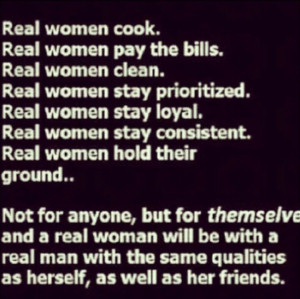 real women quotes | Real women