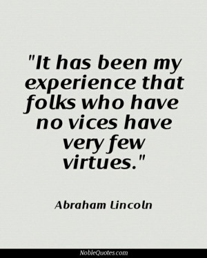 Vice & Virtue Quotes | http://noblequotes.com/