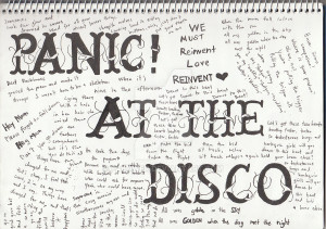Panic At The Disco by falower