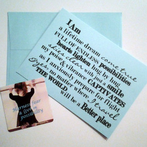 Cherished Daughter Card, Sentimental Card illustrated with vintage ...