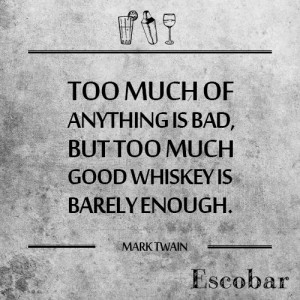 Whiskey #Mark #Twain #Alcohol