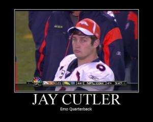Brett Favre - Personality/Passion = Jay Cutler