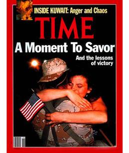 Desert Storm's Troops: Triumphant Return