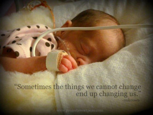 Quotes For Premature Babies