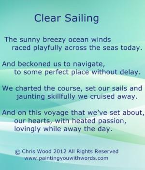 sailing poems