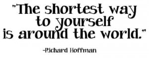Richard Hoffman quote