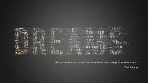 Walt Disney quote Wallpaper