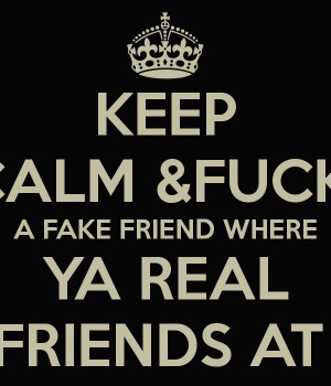 Drake Quotes About Fake Friends