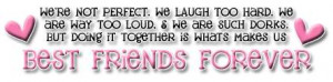 Myspace Graphics > Quotes > best friends forever Graphic