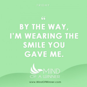 Keep smiling, it's #Friday ;)
