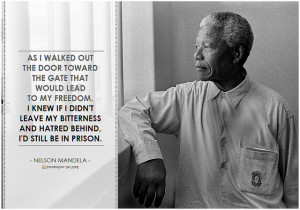 former South African leader and a great human being, Nelson Mandela ...