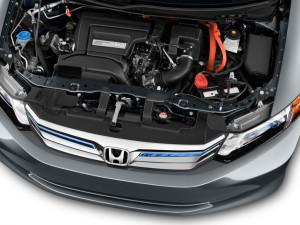 2012 Honda Civic Hybrid 4-door Sedan L4 CVT Engine
