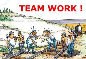 Teamwork Cartoon Picture